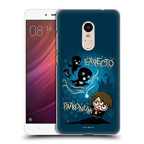 Head Case Designs Oficial Harry Potter Expecto Patronum Deathly Hallows III Carcasa rígida Compatible con Xiaomi Redmi Note 4