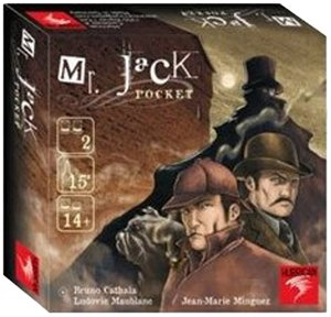 Asmodee-Halloween Mr Jack Pocket-Español, Color One Colour, Talla Única MRJ04ML