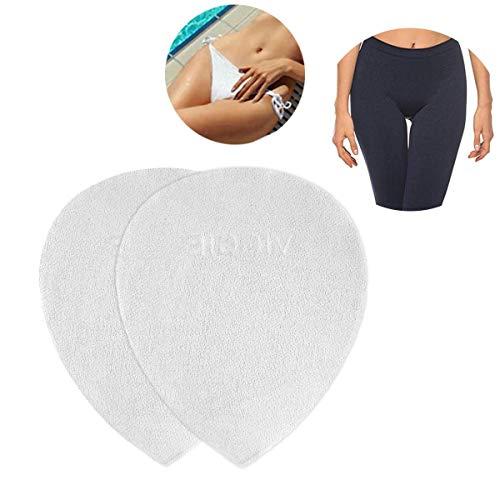 MOGOI Camel Toe Concealer für Damen, spurlose Silikonkamelzehenpolster-Abdeckung, wiederverwendbar Keine Kamelzeheneinsätze für Badebekleidung, Yogahosen, Bikini, Aktivbekleidung, Unterwäsche