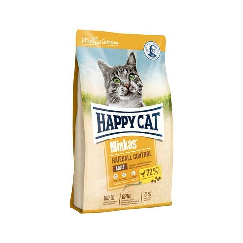 Happy Cat Minkas Adult Hairball Control Poultry - 4kg