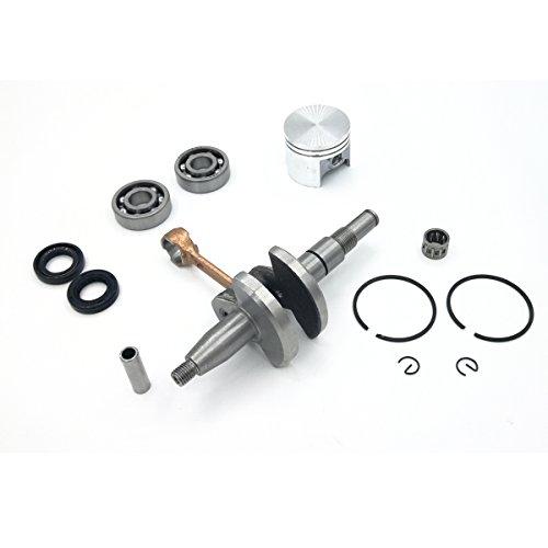 Cancanle krukas Crank Dragende Olie Seal & 38mm Zuiger Ringen Kit Voor STIHL 018 MS180 Kettingzagen Motor Motor Onderdelen