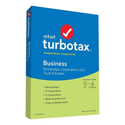 Price comparison product image TurboTax 2019,  Business Federal Efile,  for PC