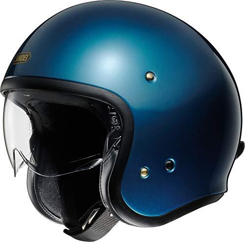 Shoei J.O Laguna Blue Open Face Helm Jethelm Motorradhelm, L