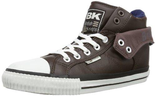 British Knights ROCO B32-3730 Herren Sneaker, Braun (dk. Brown/Navy 1), EU 42