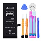JEMESI Battery for iPhone 6S Plus, New 3500mAh Ultra High Capacity Li-Polymer...
