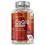 Coenzima Q10 200mg, 120 Cápsulas Vegano - Suplemento CoQ10 De la Fermentación de la Ubiquinona, Co Q10 100% Natural de Alta Biodisponibilidad y Absorción, Suministro para 4 Meses, Sin Gluten