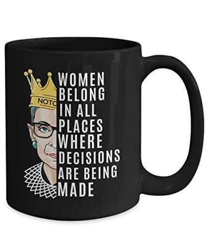 Lplpol Ruth Bader Ginsburg, Notorius RBG Tasse, Supreme Court Women Tasse, Frauen Power Tasse, Geschenk für Anwälte Frauen, Geschenk für Juristin, Geschenk für Richter