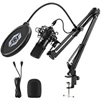 Ocq USB Streaming Podcast Microphone Kit