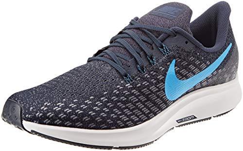 Nike Air Zoom Pegasus 35, Zapatillas de Running Unisex Adulto, Multicolor (Obsidian/Blue Hero/Gunsmoke/Vast Grey 401), 40.5 EU