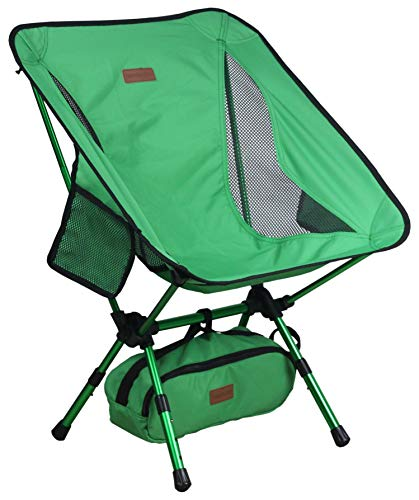 Trekology YIZI GO Portable Camping Chair - Compact Ultralight Folding Backpacking Chairs, Small...