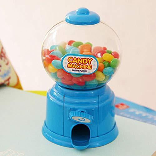 Piore Spaarpot Spaarpotten Speelgoed Twisted Candy Machine Handleiding Snoepfles Bonbondoos Kleine snoepjes Dispenser Snoepjes Opslag, Blauw
