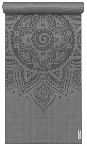 Yogistar Yogamatte Basic Art Collection Spiral Mandala Graphit
