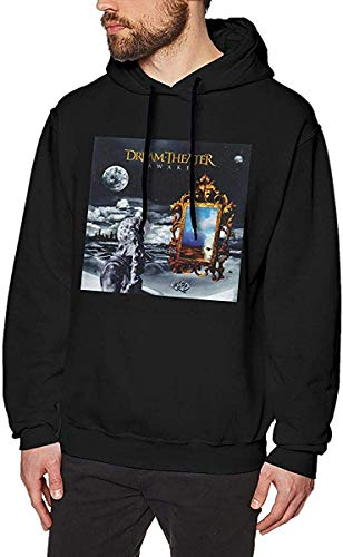 Herren Neuheit Hoodies Activewear Top Hoodies Herren Hoody Men's Comfortable Dream Theater Awake Reviews Sweater Black with Creative Printed Sweatshirts