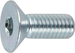 TRUSCO(トラスコ) 六角穴付皿ボルト三価 白 全ネジ M5×8 25本入 B773-0508