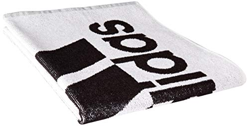 Adidas Adidas Towel L Beach Towel, Unisex Adulto, Black/White, NS