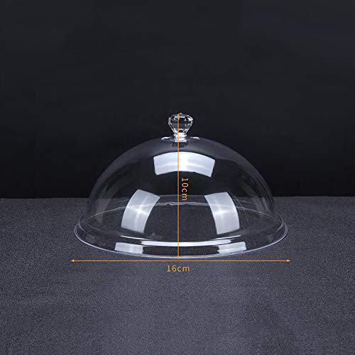 GX&XD All'Aperto Picnic Coperture Alimentari,Chiaro Pc Coprivivande Copertura Rotondo Polvere-Prova Alimenti Copertura Copertura Torta Dimensioni Extra Large Coperchio per Piatti A