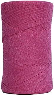 Tape Yarn 150 Yards/Cotton Tape Yarn/Bulky Yarn/Fast Track/Crochet/Knitting Yarn/XL Yarn/Modern Crochet/Ribbon Yarn (Fuchsia)
