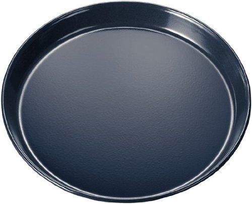 Bosch HEZ317000 Zubehör für Backöfen / Pizzaform / Grau / 35 cm Durchmesser / innen und außen emailliert / spülmaschinenfest