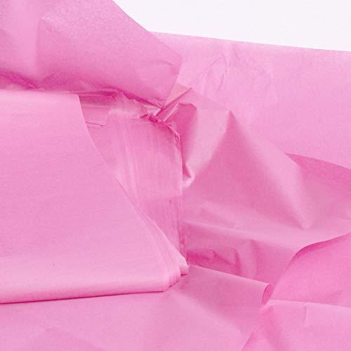 10 hojas de papel de seda de color rosa pastel, papel de seda sin ácidos, papel de seda artístico, papel de regalo, papel de seda para decoraciones