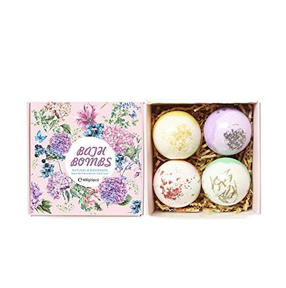 健康欠如メイトHOT !!! TikTok 泡 入浴剤 セット 4 x 100g さまざまなにおい バレンタインデー 泡ぶろ (ピンク包装 #2)