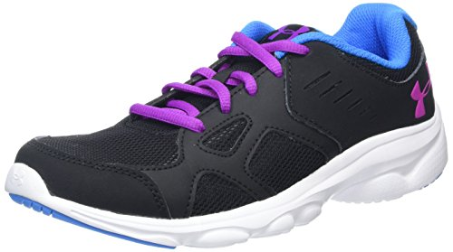Under Armour Ua Ggs Pace Rn, Chaussures de Running Compétition fille, Noir (Black), 36.5