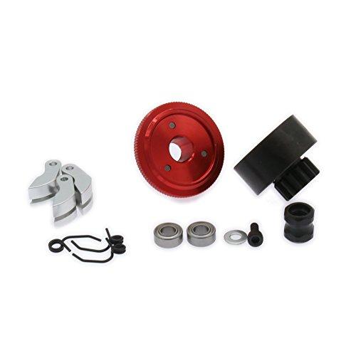 RCAWD 13 T Zähne Zahnkupplung Schwungrad N10239 Set für RC Hobby Modell 1: 8 Skala Auto HSP Kyosho BSD(rot)