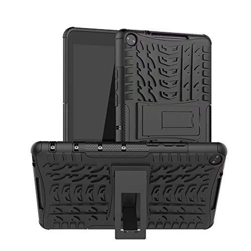 HHF Teléfono móvil Accesorios para Huawei MediaPad T3 T5 10 m3 M5 Lite 8 8.4 10.1, Armor Stand PC Funda Protectora Protectora a Prueba de Golpes para Huawei MATEPAD 10.4 Pro 10.8
