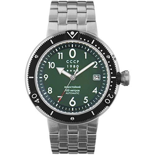 CCCP KashalotSubmarine Herren-Armbanduhr 47mm Automatik CP-7004-44