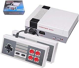 comprar comparacion Anzer Consola de Juegos Mini TV TV Familiar clásica de 620 Juegos, Consola portátil Sistema de Juegos Retro Consola portát...