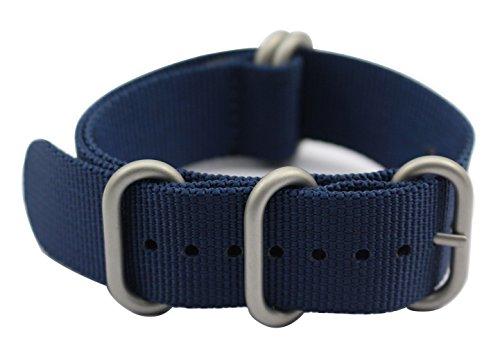 ArtStyle Watch Band correa de nylon de 1,5mm de espesor y hebilla pulida.
