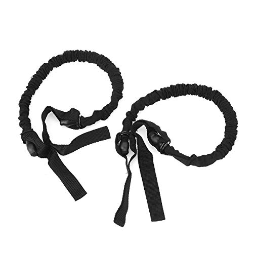 Appoint 1 Pair Abdominal Wheel Pull Rope Auxiliary Elastic Tension Belt Slimming Fitness