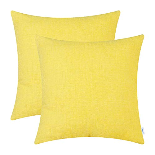 CaliTime - Juego de 2 fundas de cojín acogedoras para sofá, decoración del...