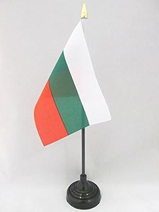 flaggen PAL/ÄSTINENSISCHE TISCHFAHNE 10 x 15 cm AZ FLAG TISCHFLAGGE PAL/ÄSTINA 15x10cm goldene splitze