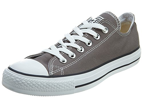 Converse Unisex-Erwachsene Chuck Taylor All Star-Ox Low-Top Sneakers, Grau (Charcoal), 45 EU
