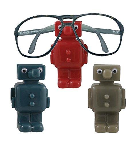 Robot Eyeglass Holder - Colors Vary