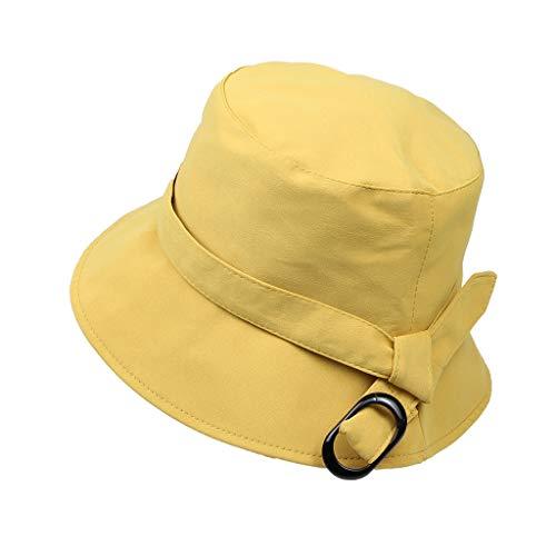 LEEDY - Sombrero de sol para mujer, plegable, protección UV, gorro ancho para safari, senderismo, exteriores, playa, sombrero para vacaciones