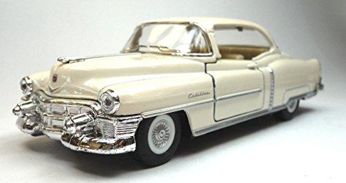Generisch Kinsmart Modellauto kompatibel mit Cadillac Series 62 Coupe beige ca. 12,5 cm