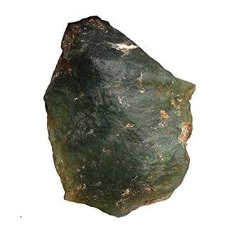 gemhub Raw Rough Serpentine 68.50 Ct Certified Uncut Natural Green Serpentine Gemstone for Astrological