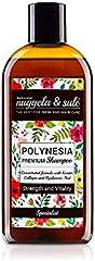 Nuggela & Sulé Polinesia Champú Premium con Keratina, Colágeno y Ácido Hialurónico, Cuerpo y Vitalidad - 250 ml