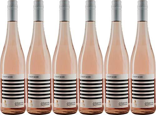 Johannes Balzhäuser Pinot Rosé 2019 Trocken (6 x 0.75 l)