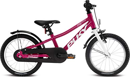 Puky Cyke 16''-1 Alu Kinder Fahrrad Berry rot/weiß