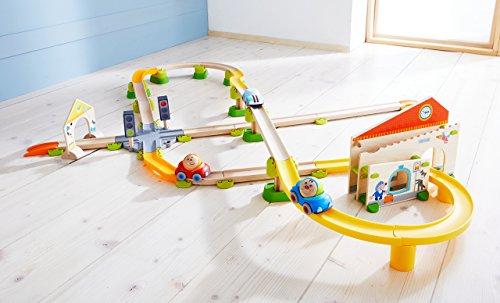 HABA 303082 Kullerbü – Spielbahn Stadtbummel, Kleinkindspielzeug - 4