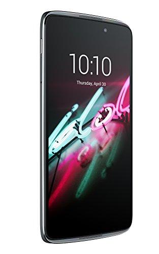 Alcatel Idol 3 smartphone débloqué 4G (Ecran : 5,5 pouces - 16 Go - 2 Go RAM - Android Lollipop 5.0.2) Gris