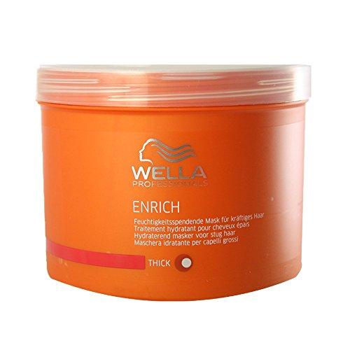 Wella Wella professionalss enrich unisex feuchtigkeitsspendende mask für kräftiges haar 500 ml 1er pack 1 x 1 stück