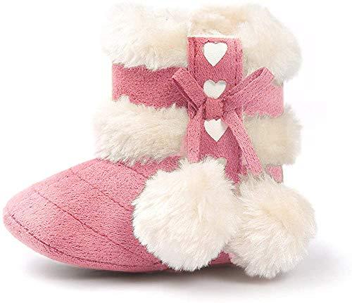 Matt Keely Baby Mädchen Schneestiefel Kleinkind Winter warme Schuhe Pink 6-12 Monate