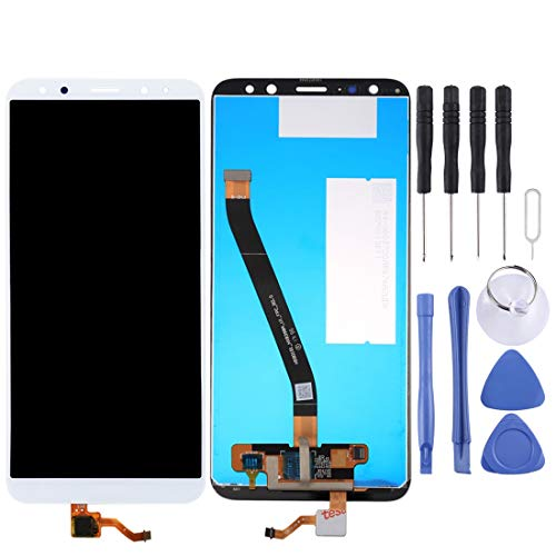 ZHUHAI vervangende display Touch Screen Reparatie voor Huawei Maimang 6 / Mate 10 Lite LCD-scherm en Digitizer Volledige montage (zwart) Screen Assembly Kits + Hele set vervangende gereedschappen, Kleur: wit