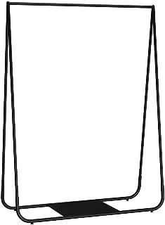 sans marque JIE- Porte-Manteau en Métal Noir pour Vêtements avec Petit Support De Rangement en Bas, Adapté pour La Maison/...