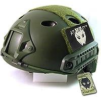 ATAIRSOFT Airsoft PJ Type Casco rápido para CQB Shooting Paintball Army Military Combat OD Green