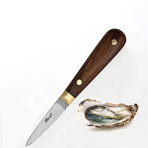 Cuchillo para ostras (madera palisandro inoxidable)