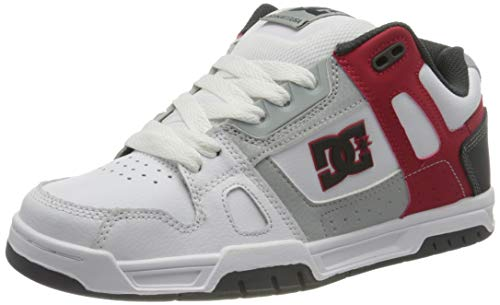 DC Shoes Stag - Leather Shoes - Schuhe - Männer - EU 41 - Weiss